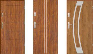 Drzwi wejściowe EKO-NORM 55 mm Pełne